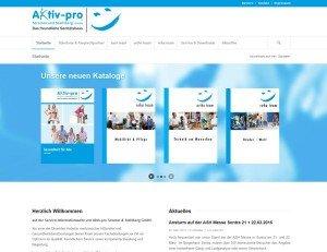 Aktiv Pro Stramer & Stahlberg GmbH - Screenshot