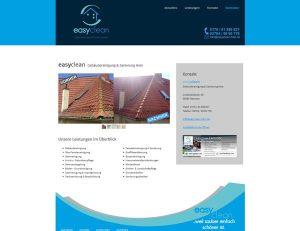 easyclean  Gebäudereinigung & Sanierung Hein- Screenshot