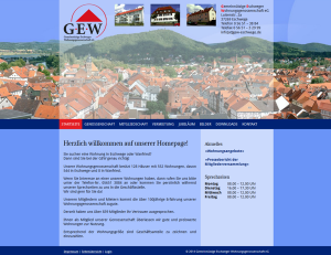 GEW Eschwege - Screenshot