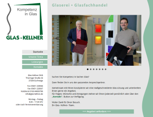 Glas-Kellner OhG  - Screenshot