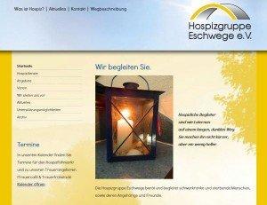 Hospizgruppe Eschwege e.V. - Screenshot