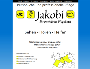 Jakobi Pflegedienst - Screenshot