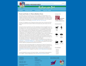 Kultur WMK - Screenshot