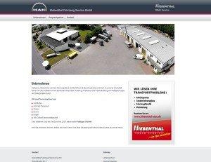 Hiebenthal Fahrzeug Service GmbH - Screenshot