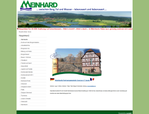 Gemeinde Meinhard - Screenshot