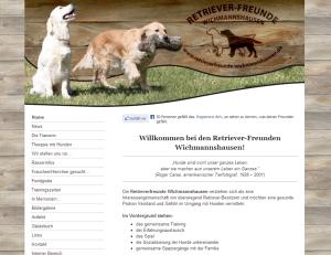 Retriever-Freunde Wichmannshausen - Screenshot