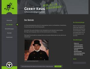 Schornsteinfeger Gerrit Krug - Screenshot
