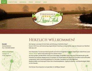 Ferienhaus - Kleines Glück - Screenshot